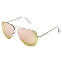 Quay Muse Sunglasses – Gold/Pink