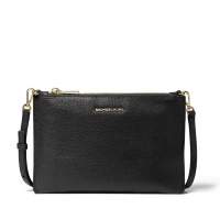 Michael Kors Large Double Pouch Crossbody - Black