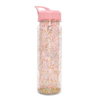 Ban.do Glitter Bomb Water Bottle - Pink Stardust